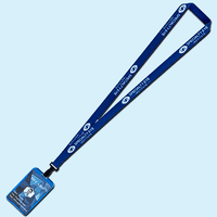 Full Color Lanyards with Aluminium Badge Holder
