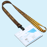 UPS Lanyards with Name Badge Holder