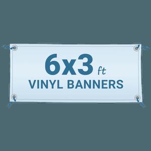 Custom 6 X 3 Vinyl Banner 6 By 3 Banner Customlanyard Net