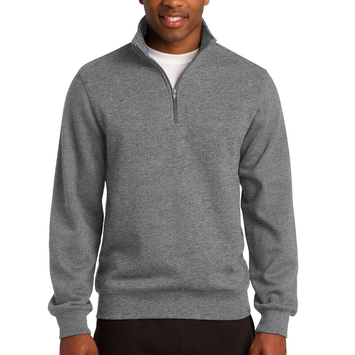 2XLT Graphite Heather Sport-Tek Mens Tall 1//4-Zip Sweatshirt